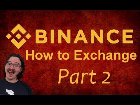 Binance Exchange Part 2 - Deposit, Withdraw, & Stop-Limit Orders