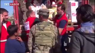 AFAD ve Türk Kızılayı Afrin ve Cinderes'e yardımlarını sürdürüyor