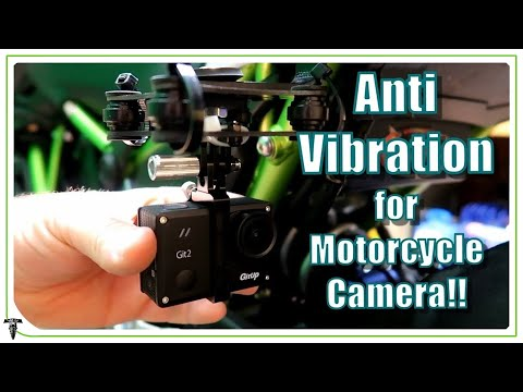 BEST Anti Vibration GoPro Motorcycle Mount   Get Perfect Footage!!