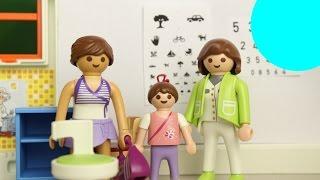 Playmobil Film deutsch LENI BEIM AUGENARZT / Kinderserie