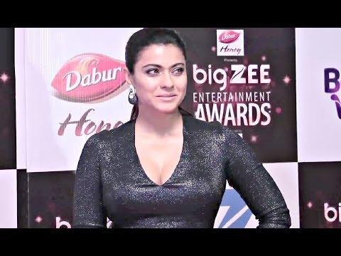 Kajol HOT Dress At BIG Zee Entertainment Awards 2017 thumbnail