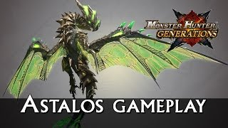 Monster Hunter Generations - Astalos Gameplay