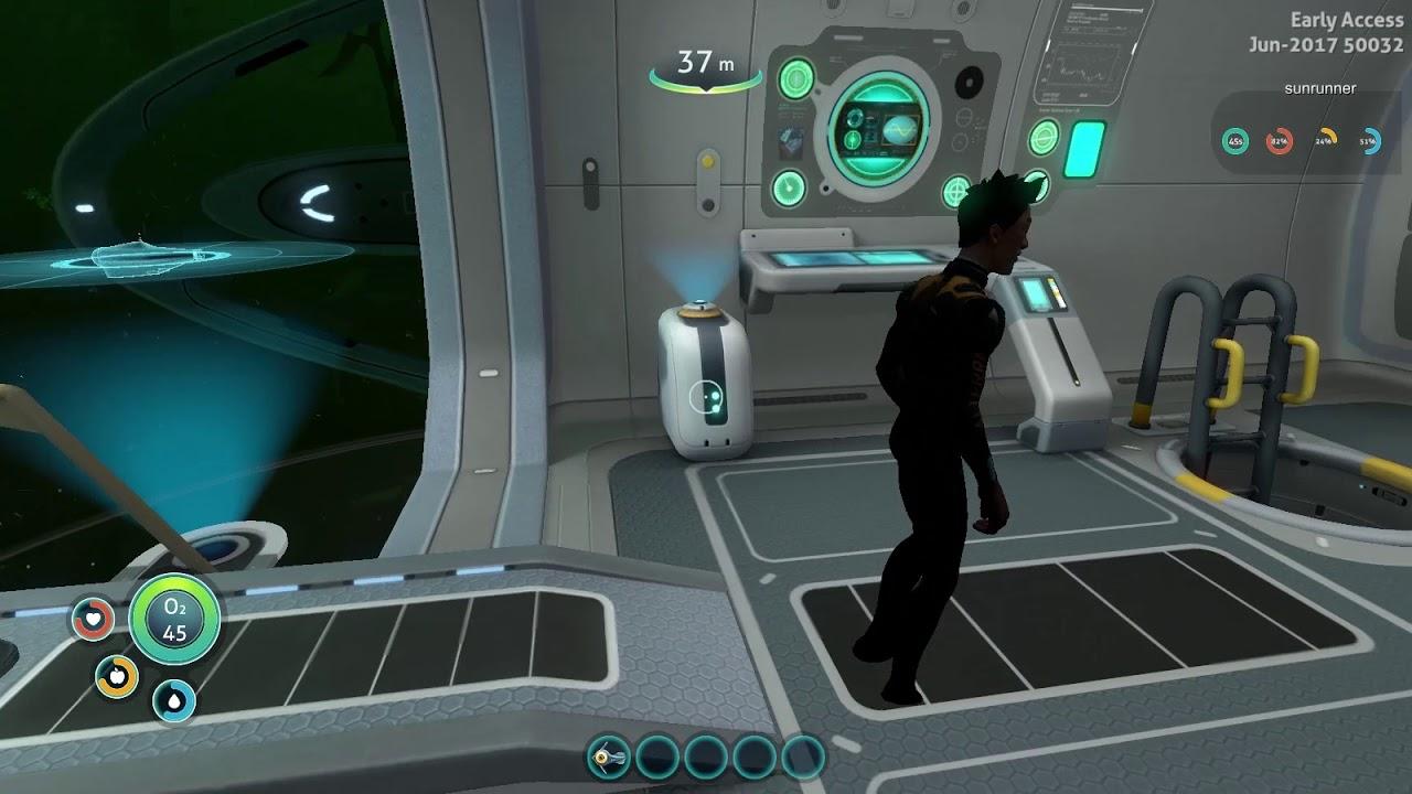 Subnautica Multiplayer Mod (Nitrox) - Cyclops - YouTube
