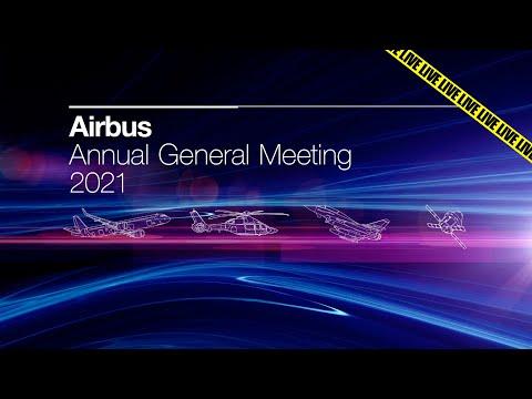Airbus Annual General Meeting 2021 (Français)