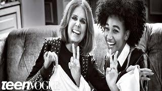 Amandla Stenberg And Gloria Steinem Talk Feminism | Teen Vogue