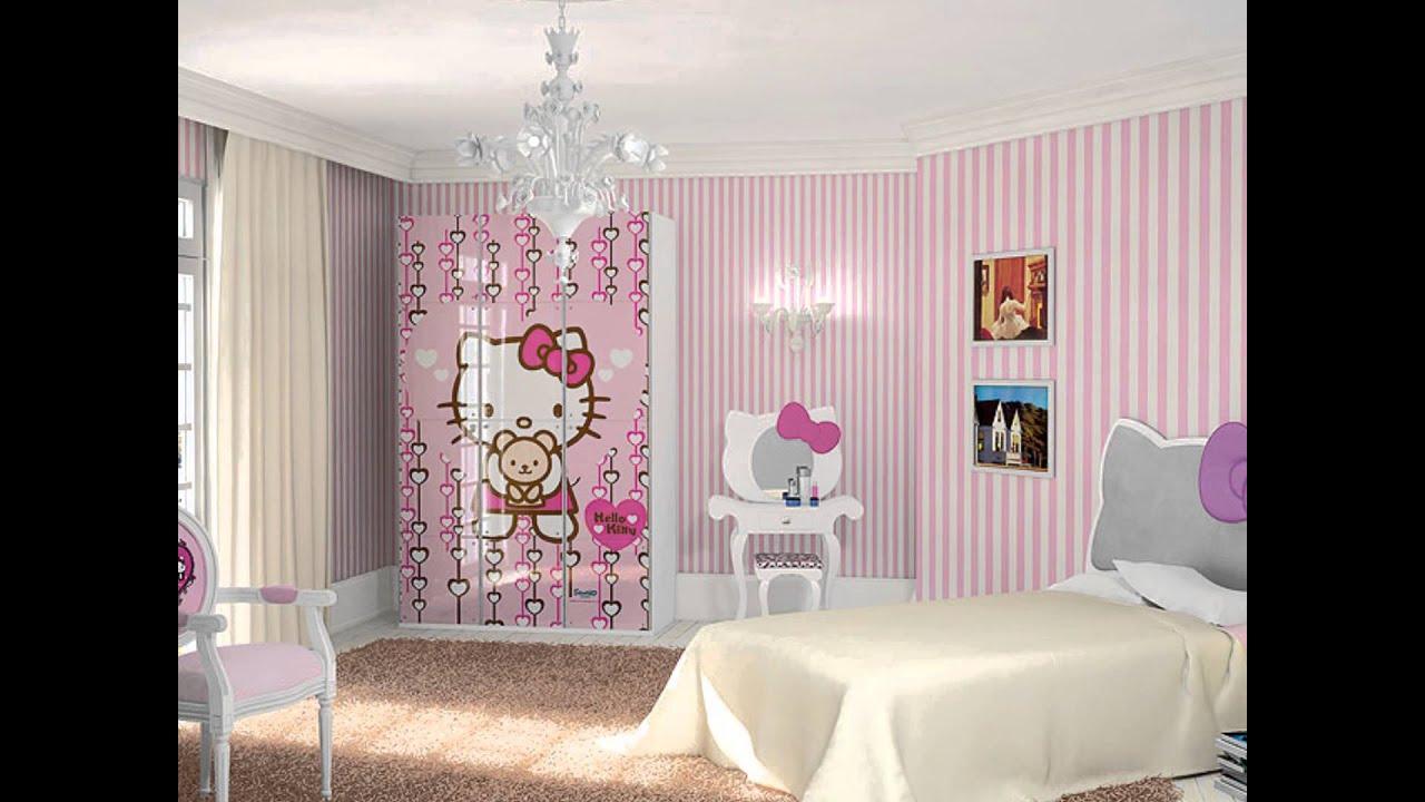 Decorar con muebles en rosa un color muy femenino youtube for Cuarto de nina rosa palido