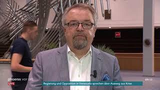 Schaltgespräch mit Jens Geier zur Nominierung von Ursula von der Leyen am 10.07.19