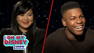 John Boyega and Kelly Marie Tran Build a Droid to Find Out Which Star Wars Character They Are