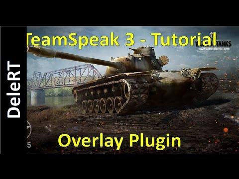 World Of Tanks & Warships - TeamSpeak 3 Overlay