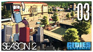 Cities Skylines - S2 Ep.03 : Canals!
