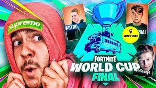 REACCIONANDO a la WORLD CUP DUOS de Fortnite - TheGrefg