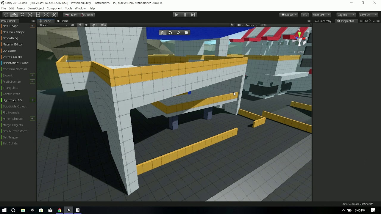 Tips & tricks for creating 3D assets fast in ProBuilder - Unity at GDC 2019