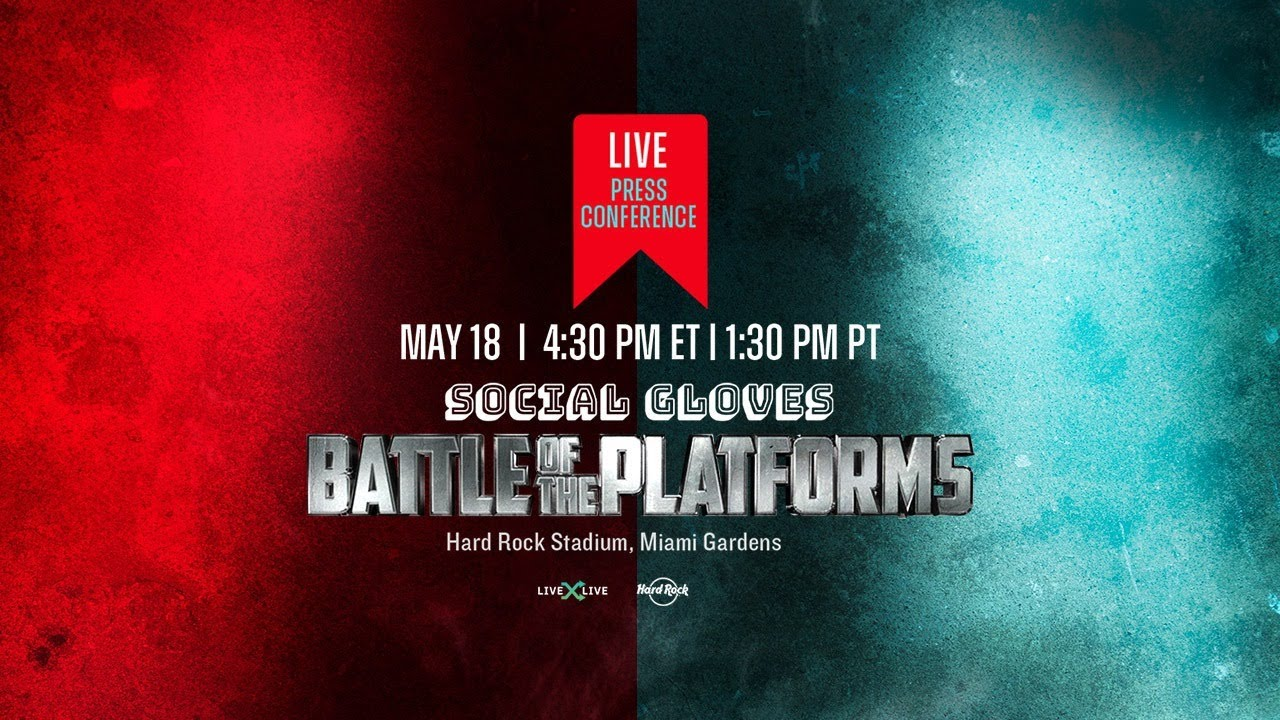 Deji VS Vinnie Hacker Press Conference - Social Gloves #BattleofthePlatforms - download from YouTube for free