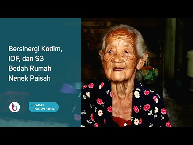 Bersinergi Kodim, IOF, dan S3 Bedah Rumah Nenek Paisah