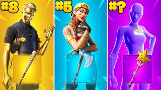 20 Most TRYHARD Skin Combos In Fortnite Season 6
