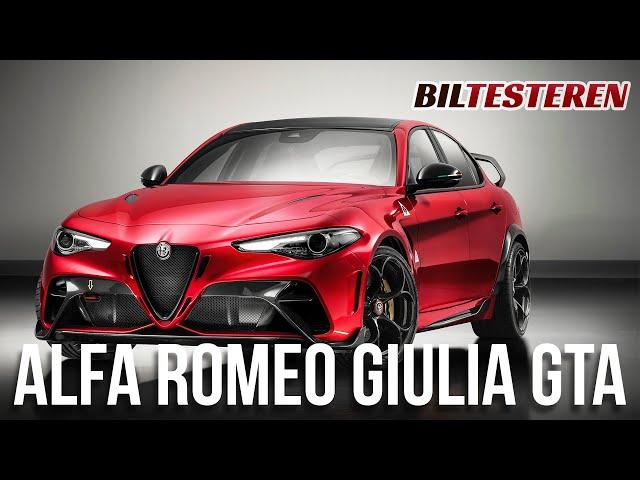 Alfa Romeo Giulia GTA (teaser)