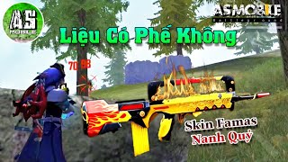 [Garena Free Fire] Test Skin Famas Nanh Quỷ | AS Mobile