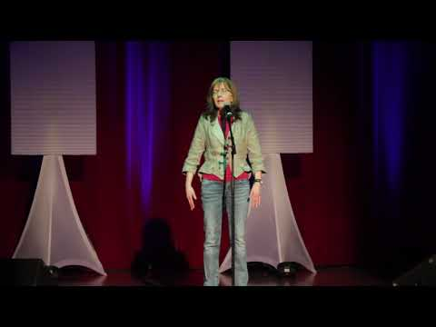 """2017 London Poetry Slam Finals   Cathy """"Women Can Not Fly"""""""