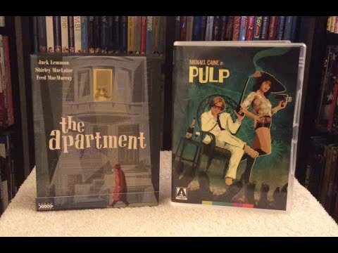 The Apartment Pulp Blu Ray Review Unboxing Arrow Academy Video Limited Edition
