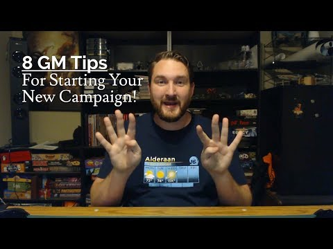 8 GM Tips for Starting Your New RPG Campaign