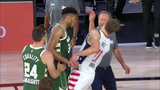 Giannis EJECTED For Headbutting Mo Wagner | Bucks vs Wizards | August 11, 2020