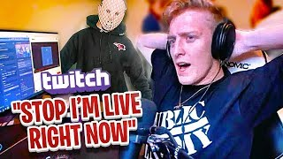 WE PRANKED TFUE While He Live Streamed Fortnite on Twitch