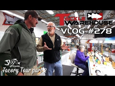 G. Loomis Factory Tour W. Jared Lintner Part 2 - Rod Building - TW VLOG #278