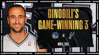 Manu's Game-Winning 👌 | #NBATogetherLive Classic Game