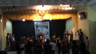 CHILD BLOODED KILLER feat dede sunblast - NEVER GIVE UP (cover) live in kerinci