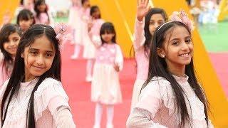 قناة اطفال ومواهب الفضائية كليب عيدكم مبارك للنجمتين جوري ووسام