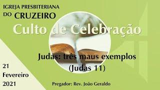 Judas: três maus exemplos (Judas 11)