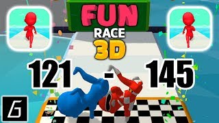 Fun Race 3D - Gameplay - Levels 121 - 145 - (iOS - Android)