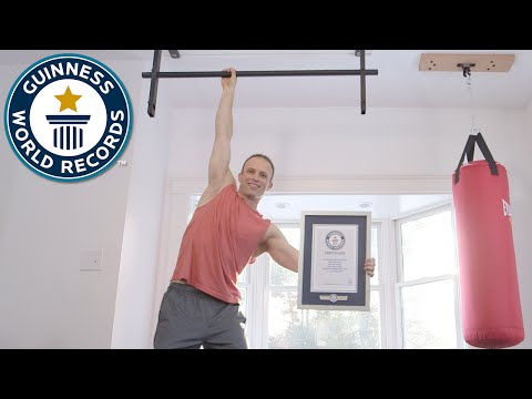 The Pull Up Guy - Meet The Record Breakers