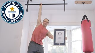 The Pull Up Guy - Guinness World Records