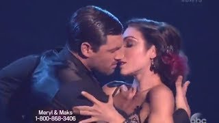 dwts 18 week 6 feel so close by calvin harris meryl davis and maks tango hd