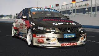 JOGO DE CORRIDA PARA PC FRACO - RACE 07 - TOCADA MONSTRA DE HONDA ACORD R - VOLANTE G27