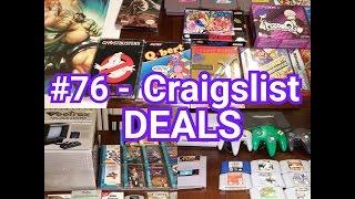 #76 - Video Game Trade Night Pick Ups & Craigslist Deals