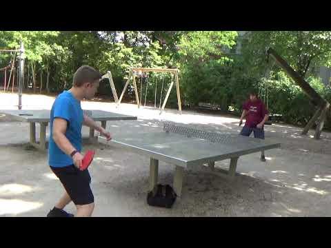 Tischtennis An Der Frauenschule Fuerth  Mit Den Steinb     An Der Steinplatte 20190619  17