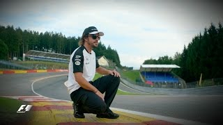 Fernando Alonso Unlocks The Secrets Of Eau Rouge