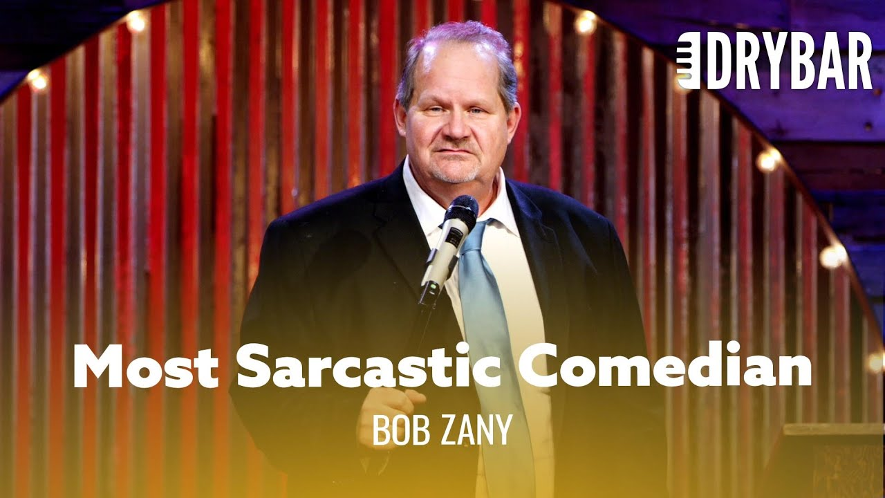 Download The Most Sarcastic Comedian Of All Time. Bob Zany - Full Special