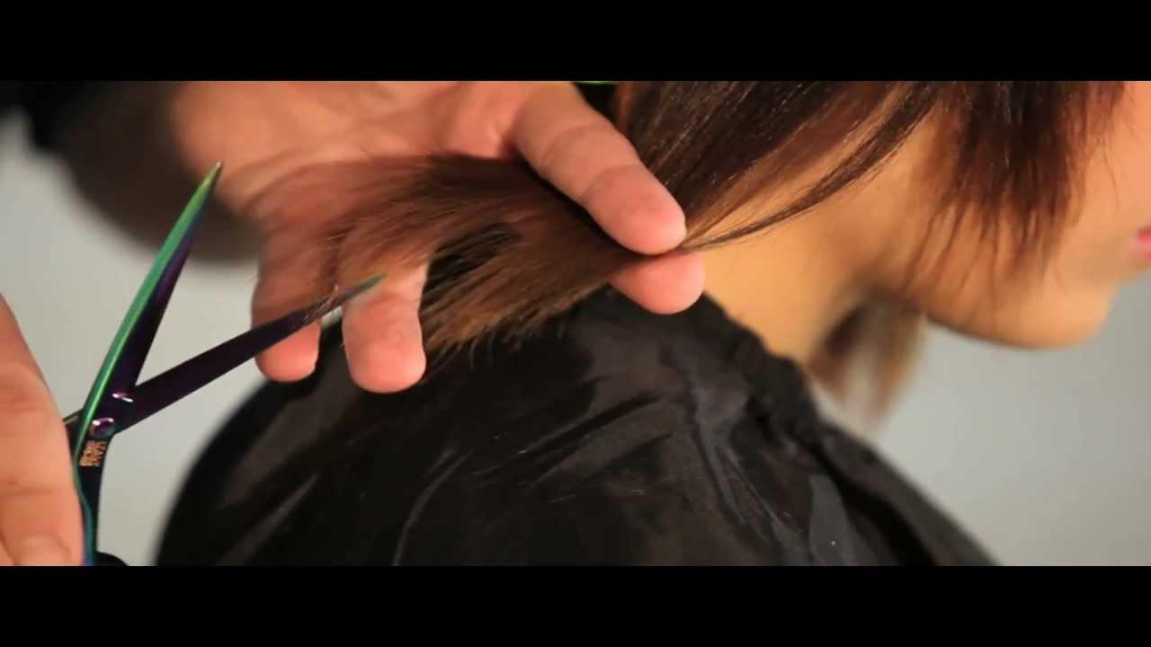 Tecnicas de corte de cabello para dama