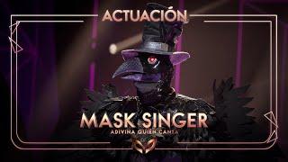El Cuervo canta 'Morado' de J Balvin | Mask Singer: Adivina quién canta
