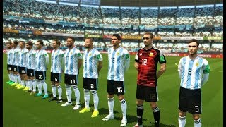 ARGENTINA VS IRAQ | Full Match & All Goals 2018 | PES 2018 Gameplay HD
