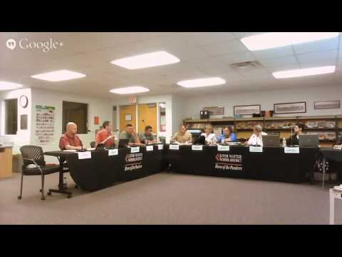 KN Board of Education Working Session 5 May 2015 6pm