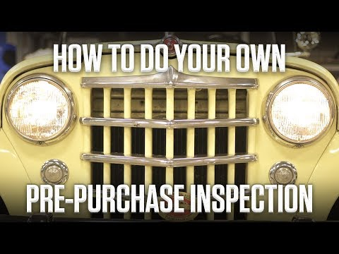 How To Do Your Own Pre-purchase Car Inspection | Hagerty DIY