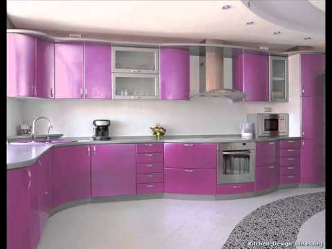 Latest modular kitchen designs youtube for New latest kitchen design