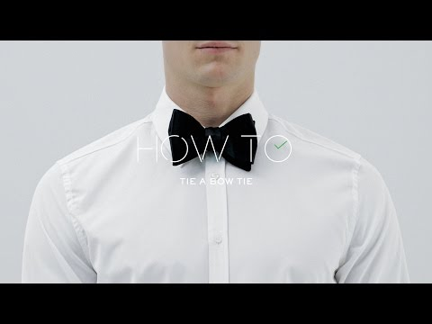 How To Tie Bow Tie