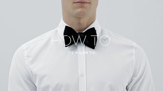 How To Tie A Bow Tie | MR PORTER
