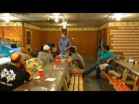 Chris Peterson men's night part 1