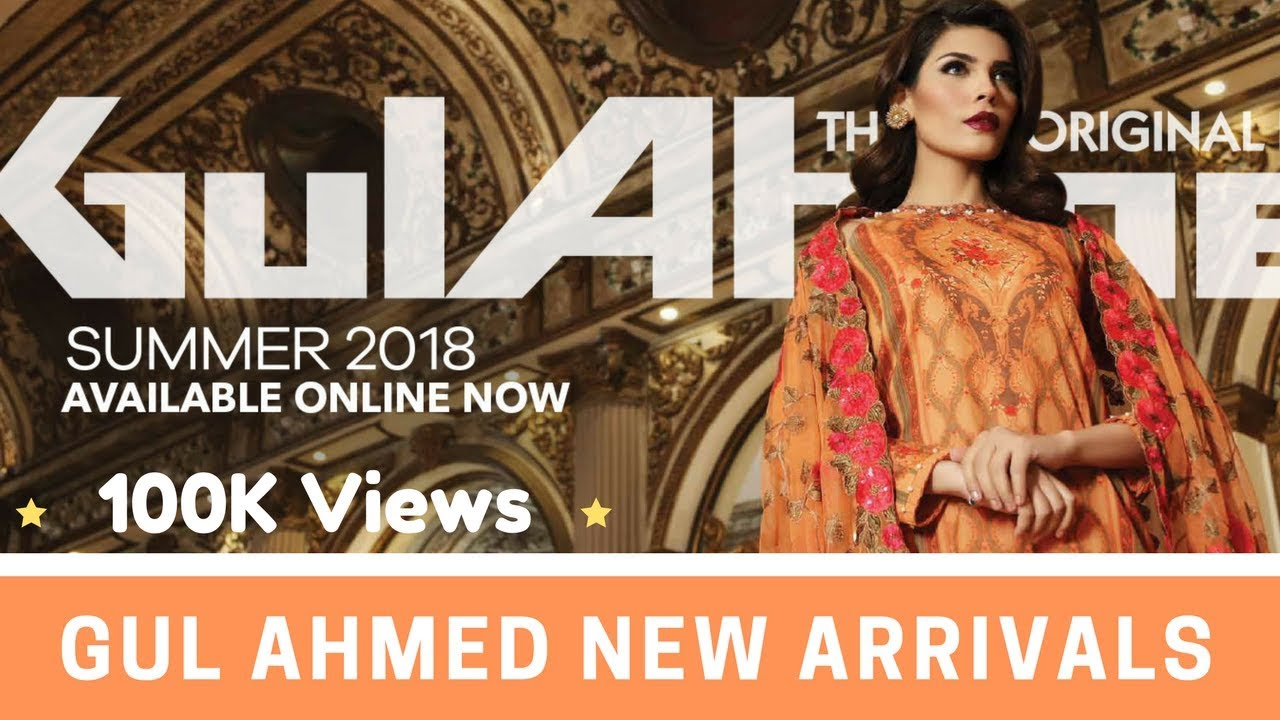 51120a3f01 Gul Ahmed Summer 2018 Collection - Gul Ahmed Lawn 2018 Prices & Fabric  Details for Ladies